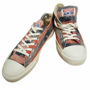 Converse All Star Stars & Bars Low Top Size 7
